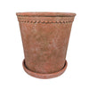 Terracotta Scallop Planter