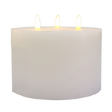 LED Battery Candle 15x10 3wick