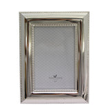 Silver Pearl Photo Frame