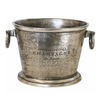 Champagne Bucket Oval in Nickel Antique Finish