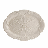 Cabbage Oval Platter 43 White