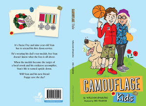 Camouflage Kids Book by William Sparling