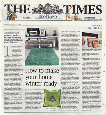 The Times Scotland 23rd October 2015