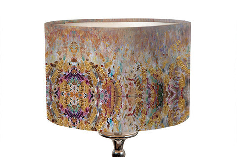 Small Golden Grasses Lampshade