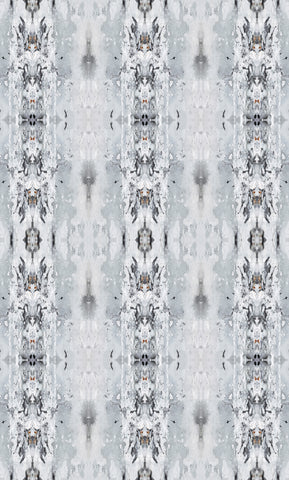 Misty Sea Fabric - Grey