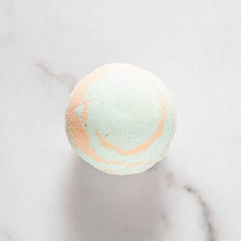 Lemon-Lime Bath bomb