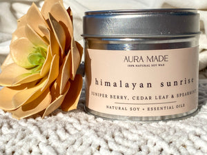 No. 4: Himalayan Sunrise Juniper Berry, Cedar Leaf & Spearmint Soy Wax Candle