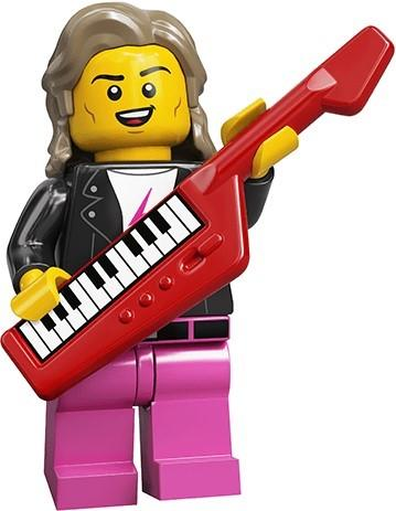 LEGO MINIFIGURES SERIES 20 71027 - 80s Musician
