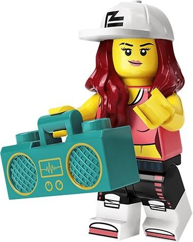 LEGO MINIFIGURES SERIES 20 71027 - Breakdancer