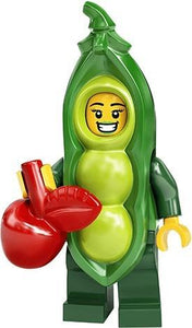 LEGO MINIFIGURES SERIES 20 71027 - Pea Pod Costume Girl