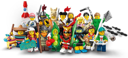LEGO Series 20 Collectible Minifigures - Complete Set of 16 - 71027