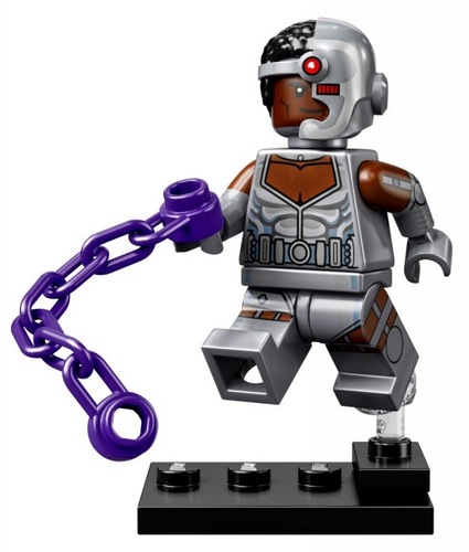 NEW DC SUPER HEROES LEGO MINIFIGURES SERIES 71026 - Cyborg