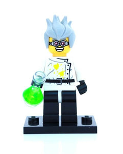 NEW LEGO MINIFIGURES SERIES 4 8804 - Crazy (Mad) Scientist