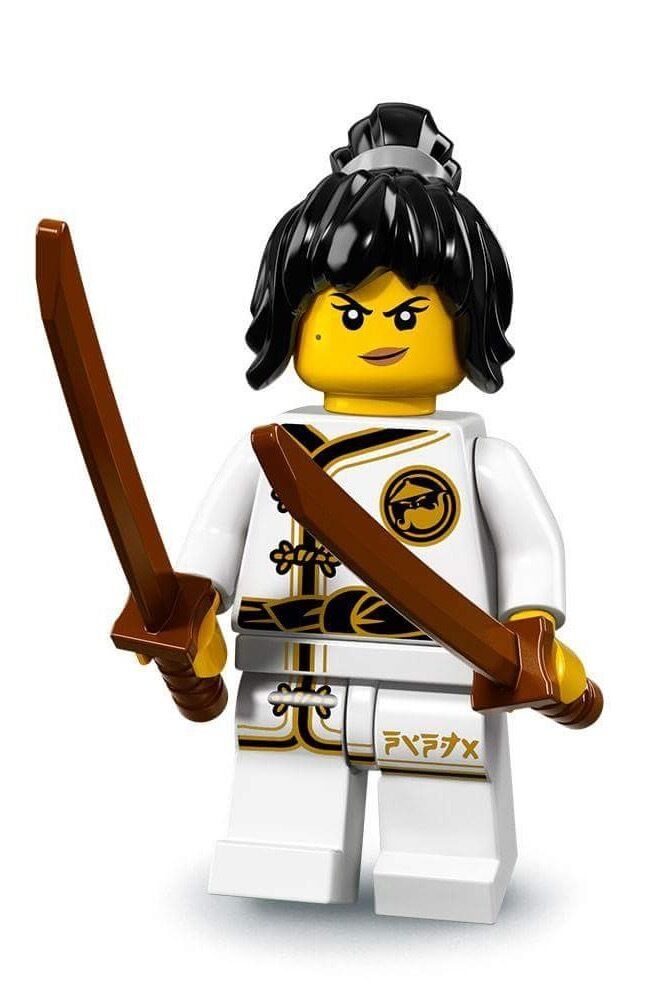 NEW LEGO NINJAGO MOVIE MINIFIGURES SERIES 71019 - Spinjitzu Training Nya
