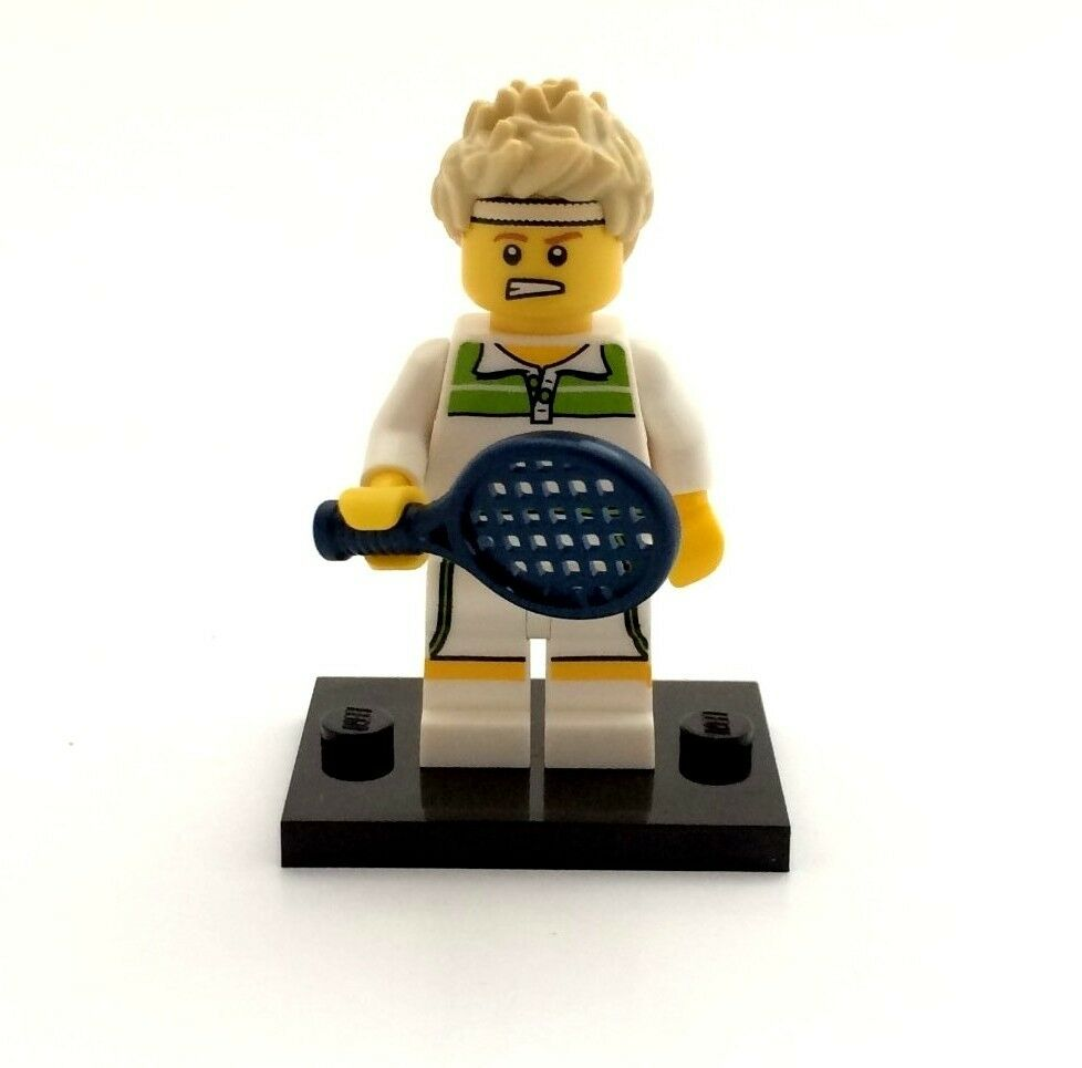 NEW LEGO MINIFIGURES SERIES 7 8831 - Tennis Ace