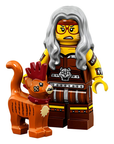 LEGO Minifigures Series Movie 2 71023 - Sherry Scratchen-Post & Scarfield