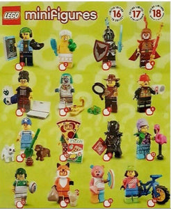 LEGO Series 19 Minifigures - Complete Set of 16 - 71025
