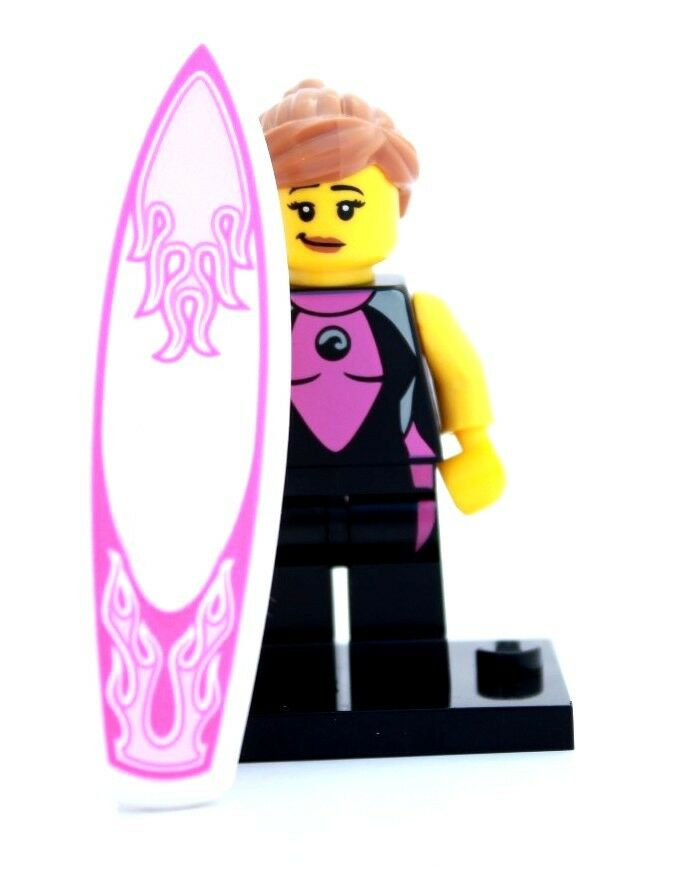 NEW LEGO MINIFIGURES SERIES 4 8804 - Surfer Girl