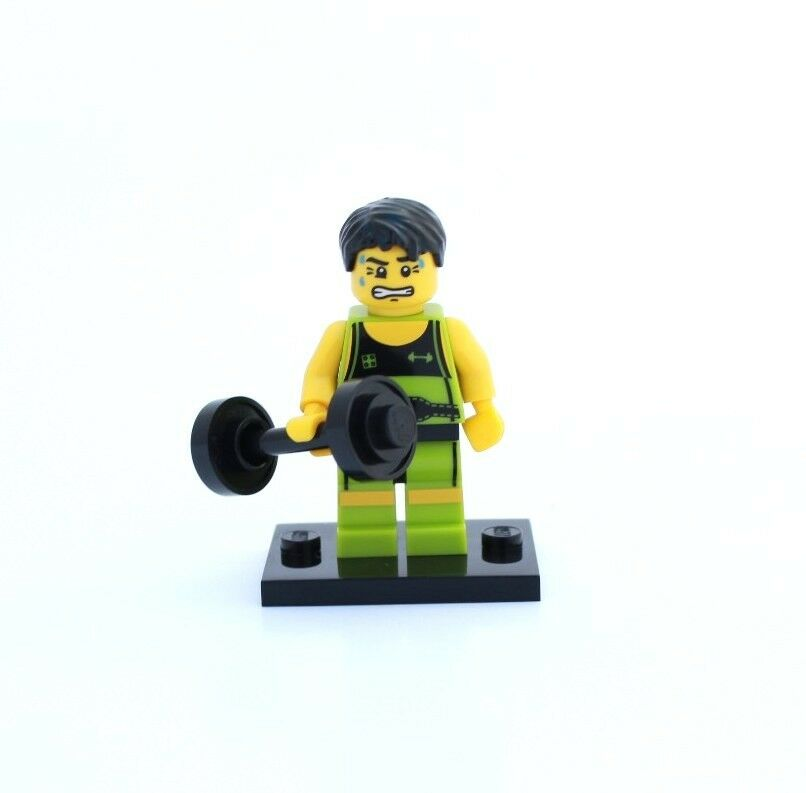 NEW LEGO MINIFIGURES SERIES 2 8684 - Weight Lifter
