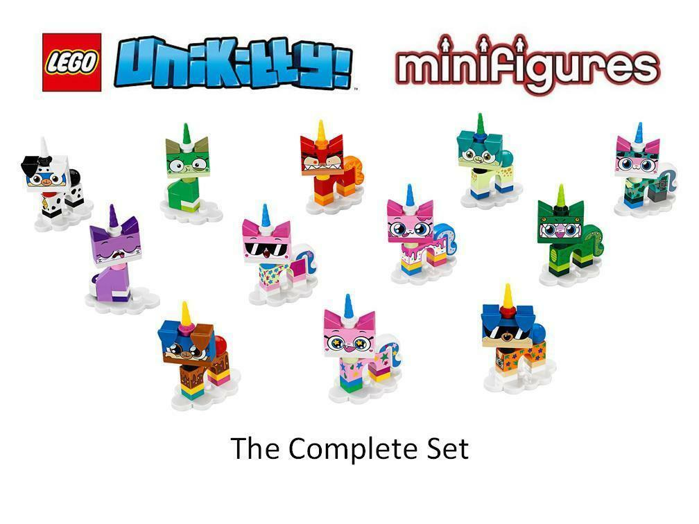 Lego Unikitty Series 1 Complete Set of 12 Minifigures - Cartoon Network 41775