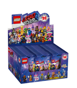 LEGO:The Lego Movie 2 Collectible Series Box Case of 60 Minifigures 71023