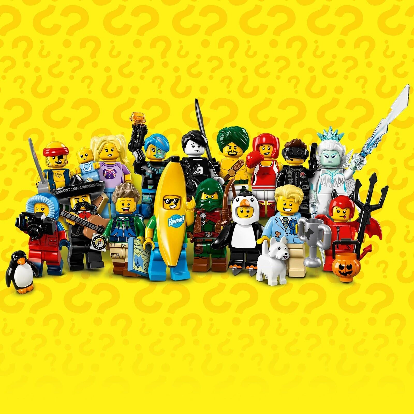 Select Your Character LEGO Minifigures Series 16 71013