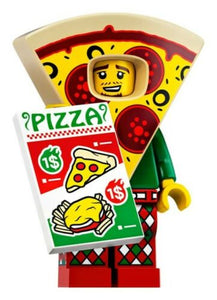 NEW LEGO MINIFIGURES SERIES 19 71025 - Pizza Costume Guy