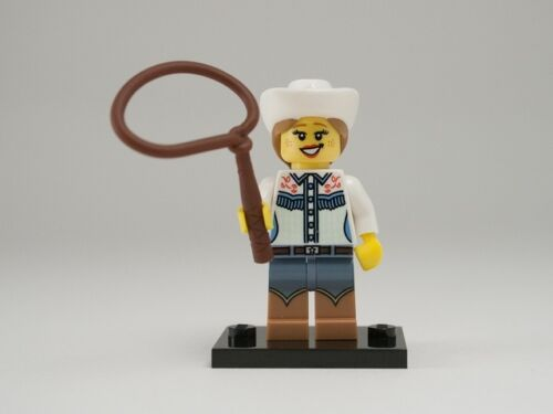 NEW LEGO MINIFIGURES SERIES 8 8833 - Cowgirl