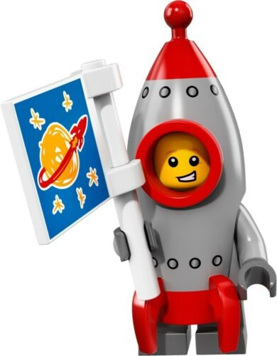 NEW LEGO MINIFIGURES SERIES 17 71018 - Rocket Boy