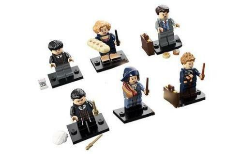 LEGO Harry Potter Fantastic Beasts SET OF 6 MINIFIGURES SERIES 71022