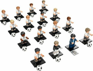 LEGO 71014 Complete Set of 16 DFB (German Soccer Team) MINIFIGURES SERIES