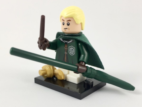 NEW LEGO Harry Potter MINIFIGURES SERIES 71022 - Draco Malfoy (Quidditch)