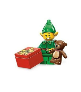 NEW LEGO MINIFIGURES SERIES 11 71002 - Holiday Elf (Christmas)