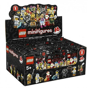 NEW SEALED LEGO 8833 Box/Case of 60 MINIFIGURES SERIES 8