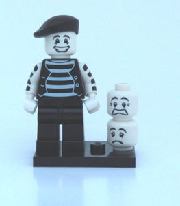 LEGO MINIFIGURES SERIES 2 8684 - Mime (Actor)