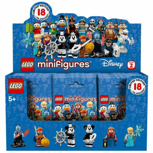 LEGO Disney Series 2 Collectible Minifigures Box Case of 60 Minifigures 71024