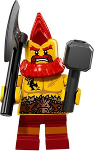 NEW LEGO MINIFIGURES SERIES 17 71018 - Battle Dwarf