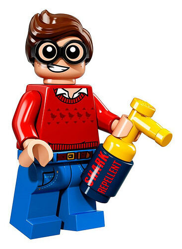 NEW LEGO BATMAN MOVIE MINIFIGURES SERIES 71017 - Dick Grayson