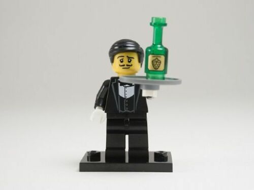 NEW LEGO MINIFIGURES SERIES 9 71000 - Waiter