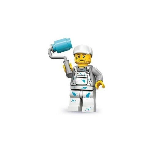 NEW LEGO MINIFIGURES SERIES 10 71001 - Decorator (Painter)