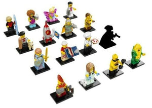 LEGO 71018 Complete Set of 16 MINIFIGURES SERIES 17