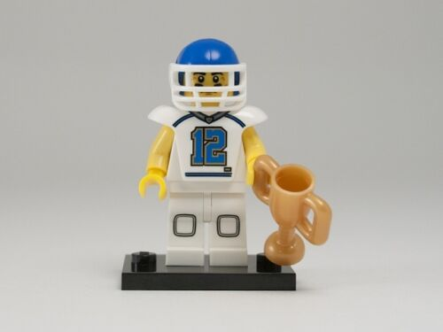 NEW LEGO MINIFIGURES SERIES 8 8833 - Football Player