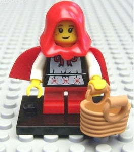 NEW LEGO MINIFIGURES SERIES 7 8831 - Grandma Visitor (Little Red Riding Hood)