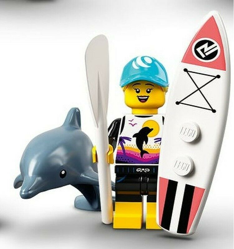 LEGO Series 21 Collectible Minifigures 71029 - Paddle Surfer
