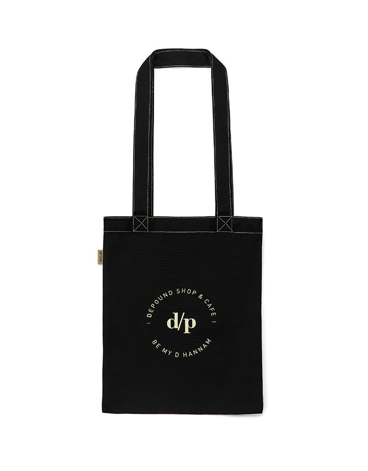 [BE MY D] stitch bag A type (M)-black