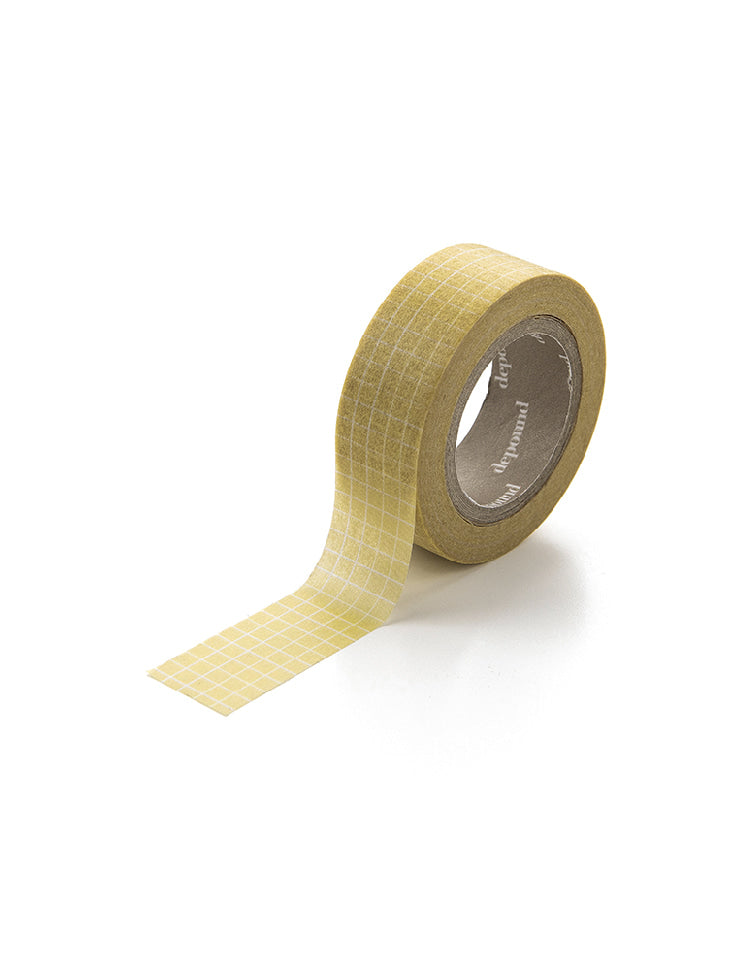 masking tape (grid-yellow)