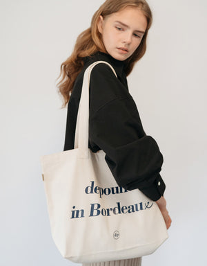 Bordeaux bag (L) - ivory