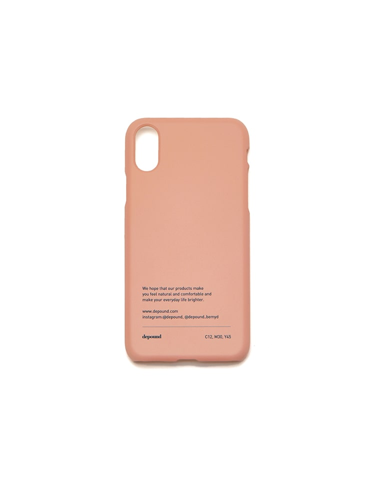 [BE MY D] phonecase (coral pink)