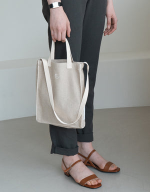 biscuit bag (M) - ivory