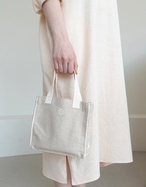 biscuit bag (S) - ivory